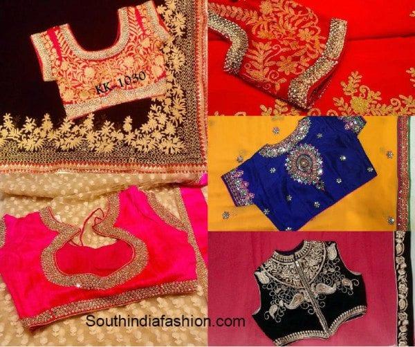 sarees_with_designer-blouses_kala_kunj_hyderabad