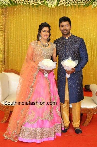 shanthnu_keerthi_marriage_reception