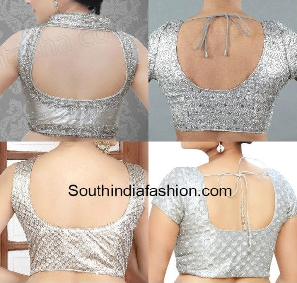 e3baf2f07fe04f 10 Must Have Blouse Designs in Your Wardrobe – South India Fashion