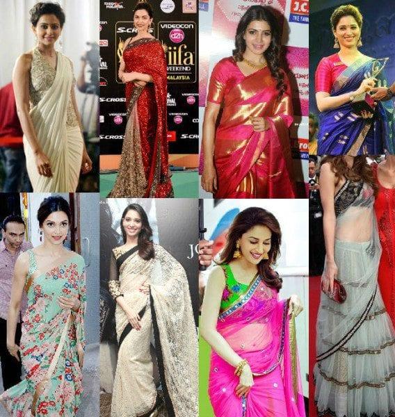 Top 10 Saree Trends of 2015
