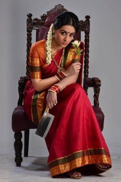 trisha nayaki first look poster