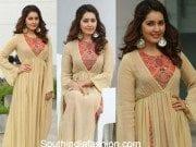 Raasi Khanna in a maxi dress