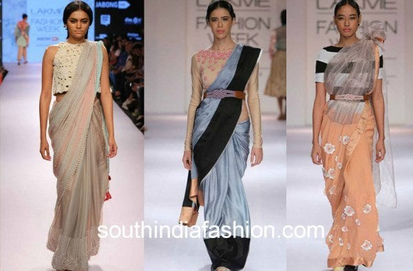 archana roa abel sarees collage