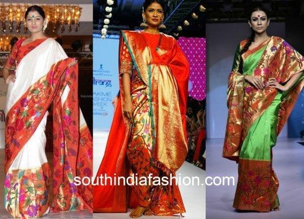 gaurang shah paithani silk sarees