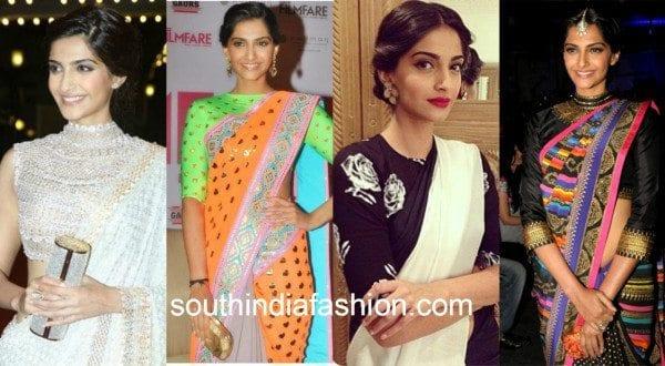 high neck blouse sonam kapoor