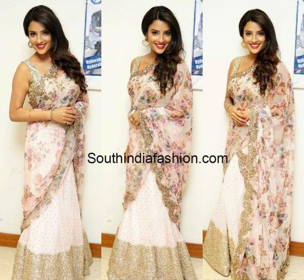 Jyothi Sethi in Floral Half Saree