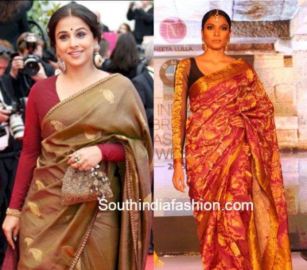 long_full_sleeves_blouse_with_kanjeevaram_silk_pattu_sarees
