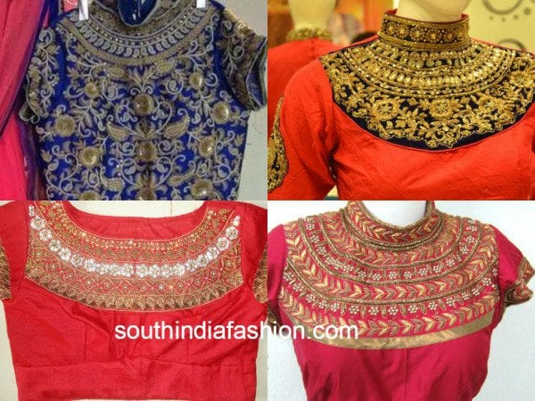8 maggam work blouse ideas on blouses worth trying out