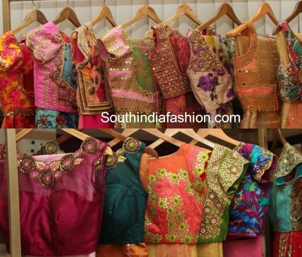 50 Stunning Designer Blouses by Mugdha Art Studio