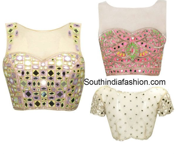 net_mirror_work_blouse_designs
