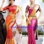 Samantha Prabhu in Stunning Kanjeevaram Wedding Sarees