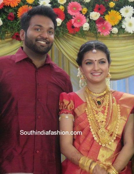 Anju aravind wedding