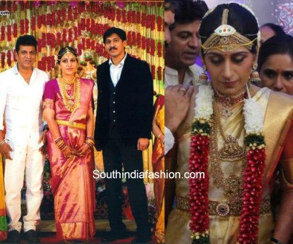 Shivaraj Kumar S Daughter Nirupama S Wedding South India