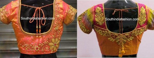zardosi_blouse_designs_with_pattu_sarees