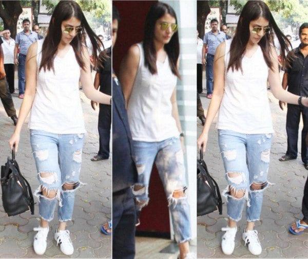Anushka Sharma in casuals