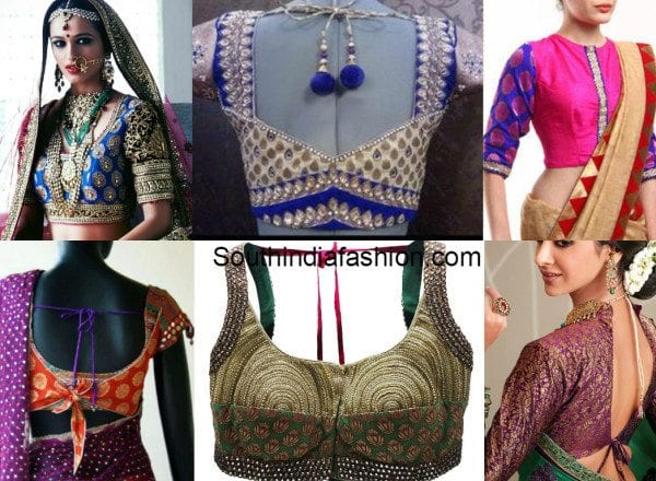 Brocade Blouses With Work feat 600x440