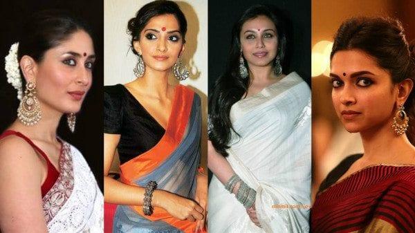 Bollywood celebrities in jhumkas