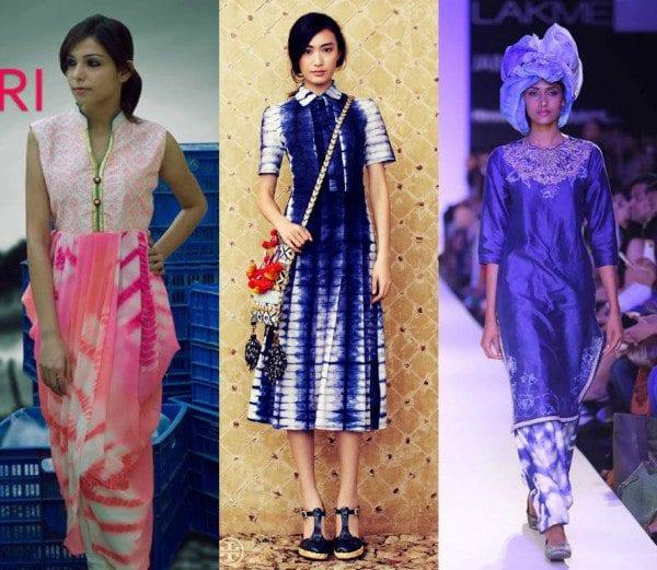 Indo Western Outfits In Shibori