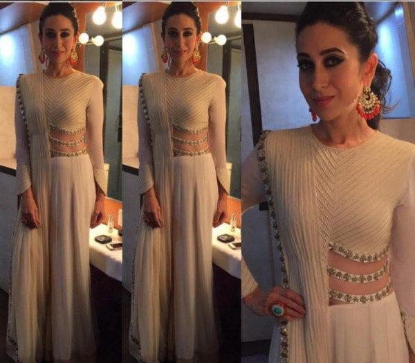 Karisma Kapoor in Riddhima Bhasin Outfit