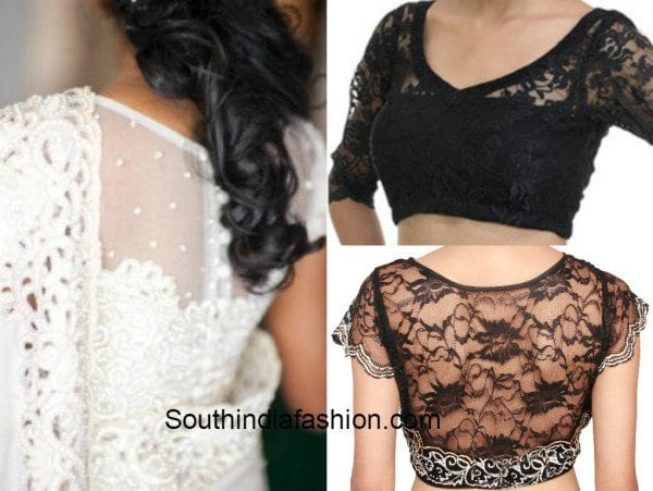 Beautiful Designs Of Lace Blouses That Are Worth Trying Out!