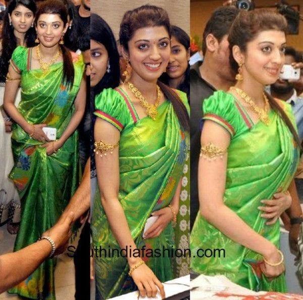 Pranitha In Kanjeevaram 2018