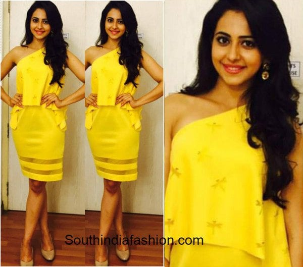 wedding ideas with purple rakul preet singh in a yellow vidhi wadhwani dress 27783