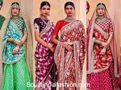 Sabyasachi Banarasi Bride Collection