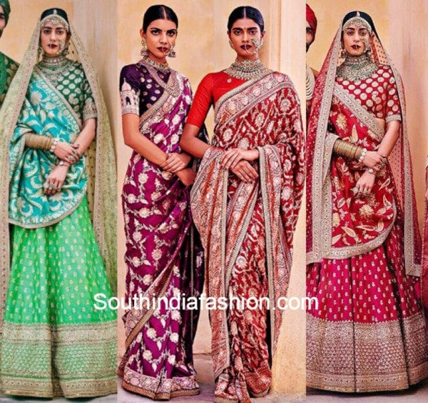 sabyasachi mukherjees stunning banarasi bride collection