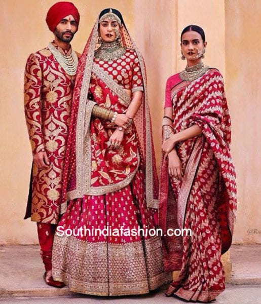 Sabyasachi's heritage bridal collection