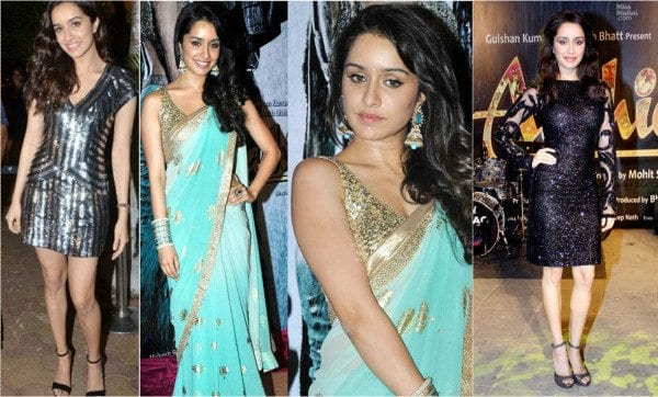 Shraddha Kapoor in sequins outfits