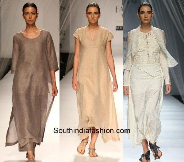 anavila and vishali at amazon fashion week