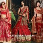 Gorgeous Designs Of Red Bridal Lehengas To Try Out This Wedding Season!