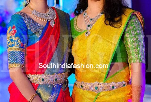 wedding blouse designs bhargavi kunam