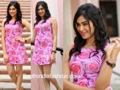 Adah Sharma in a floral dress