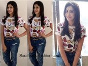 Adah Sharma in asos and forever 21