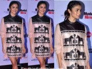 Alia Bhatt in an Ikai dress