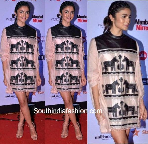 Alia Bhatt in an Ikai dress