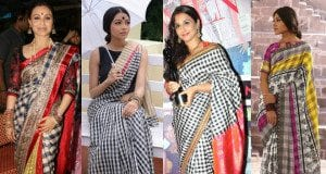 Checkered sarees feat image
