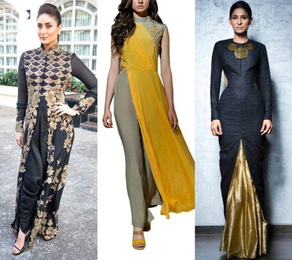 Contemporary Indo Western Wear