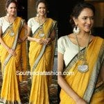 Lakshmi Manchu in Anavila saree 150x150