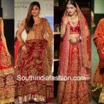Stunningly gorgeous red bridal lehengas by Ritu Kumar!