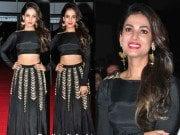 Sonal Chauhan in size zero audio launch