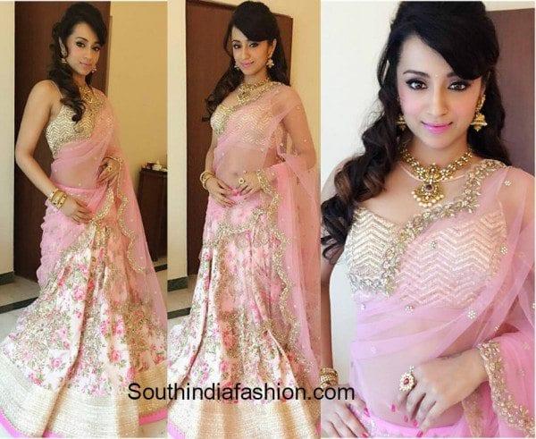 Trisha In Anushree Reddy At NAC Jewellers launch