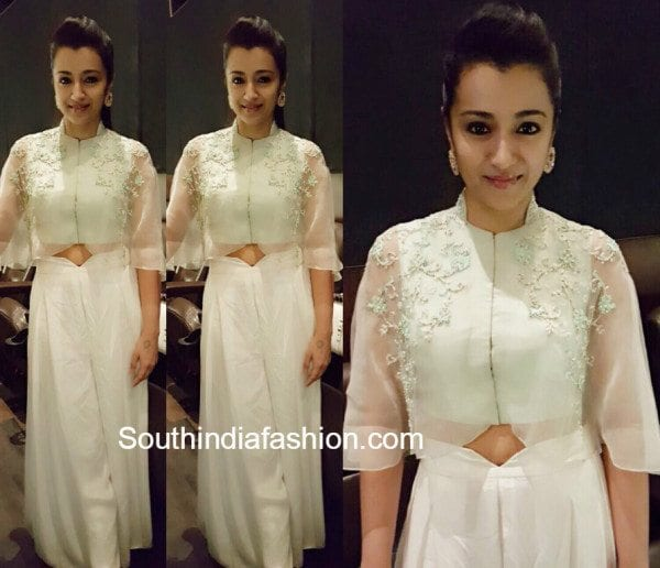 Trisha in Medha Batra at Thoongavanam audio launch
