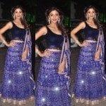 Shilpa Shetty in Manish Malhotra Lehenga