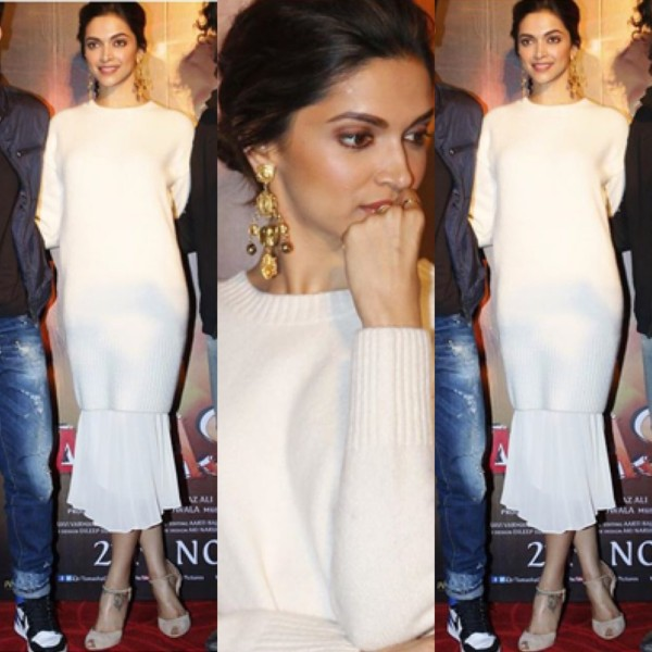 Deepika Padukone at Tamasha promotions 2018 - South India ...