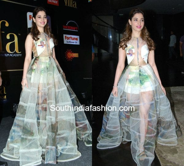 transparent gown 2018 – South India Fashion