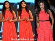 Anjali in a long dress