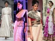 Belting up of desi outfits