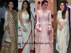 Karisma Kapoor in white feat